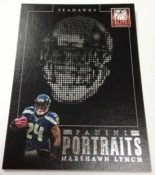 2013 Donruss Elite Marshawn Lynch Panini Portraits
