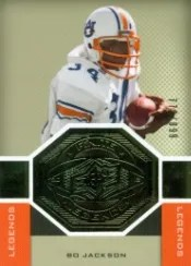 2013 UD SPx Bo Jackson Finite Legends