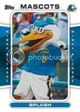 2013 Topps Pro Debut Splash Mascot