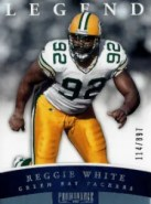 2012 Panini Prominence Reggie White Legends Card #/897