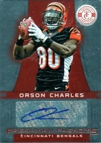 2012 Panini Totally Certified Orson Charles Autograph RC
