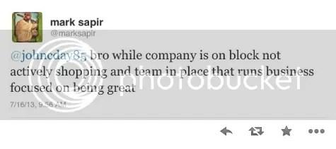 Topps On The Block Tweet