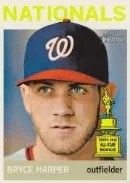 2013 Heritage Bryce Harper Color Variation