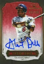 2012 Topps 5 Star Albert Belle Auto