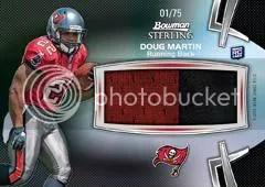 2012 Bowman Sterling Doug Martin