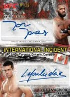 2012 Topps UFC Bloodlines International Incident