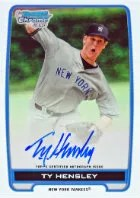 2012 Bowman Draft Ty Hensley