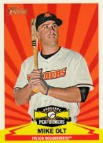 2012 Heritage Mike Olt Prospect Performers
