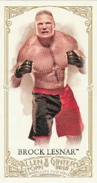 2012 Topps Heritage WWE Allen Ginter
