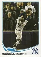 2013 Topps Russell Martin Out of Bounds