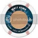 2013 Topps Chipz Matt Kemp Relic