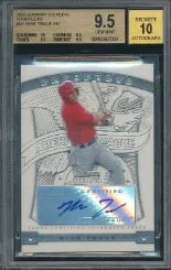 2009 Bowman Sterling Mike Trout BGS 9.5
