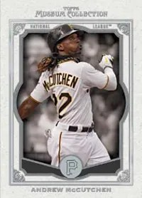 2013 Topps Museum Collection Andrew McCutchen Base