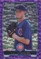 2012 Bowman Draft Purple Ice