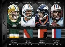2012 Panini Black Quad Patch