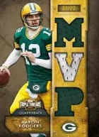 2012 Topps Triple Threads Aaron Rodgers