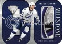 2012-13 Titanium Steven Stamkos Milestone