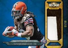 2012 Topps Triple Threads Trent Richardson