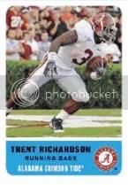 2012 Fleer Retro Trent Richardson RC