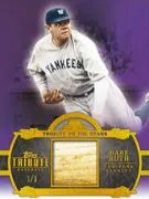 2013 Topps Tribute Babe Ruth