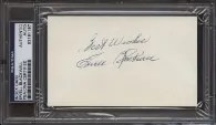 Ewell Blackwell Cut Signature
