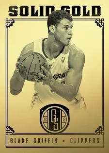 12/13 Panini Gold Standard Solid Gold Blake Griffin