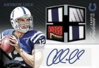 2012 Certified Andrew Luck Autograph