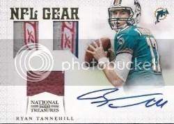 2012 NT Ryan Tannehill NFL Gear Auto