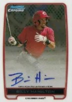 2012 Bowman Chrome Billy Hamilton