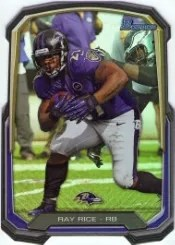 2013 Bowman Ray Rice Die Cut