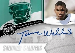 2013 Press Pass FanFare Terrance Williams Auto