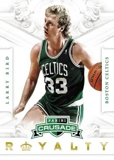 12/13 Panini Crusade Basketball Larry Bird Royalty