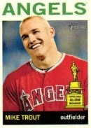 2013 Heritage Mike Trout