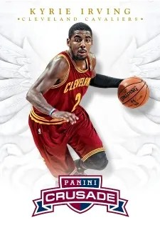 12/13 Panini Crusade Basketball Kyrie Irving Base