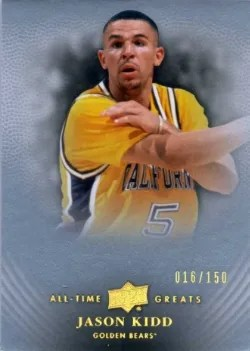 2012-13 Upper Deck All Time Greats Jason Kidd Base
