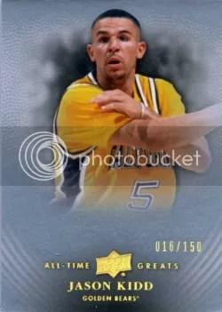 2012-13 Upper Deck All Time Greats Jason Kidd Base