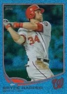 2013 Topps Series 2 Blue Wave Bryce Harper