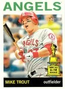2013 Heritage Mike Trout Variation