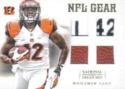 2012 National Treasures Mohamed Sanu
