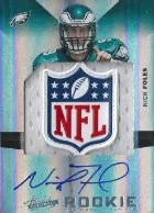 2012 Playoff Absolute Nick Foles Shield