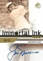 2012 Sp Authentic Golf Immortal Ink Nicklaus