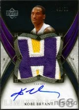 2006-07 Exquisite Kobe Bryant Patch