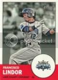 2012 Heritage Fransisco Lindor Card
