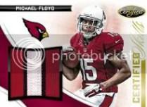2012 Panini Certified Michael Floyd Skills