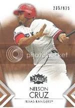 2012 Topps Nelson Cruz Triple Threads