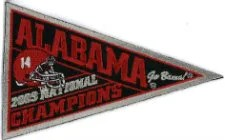 2009 University of Alabama Patch
