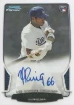 2013 Bowman Chrome Draft Yasiel Puig