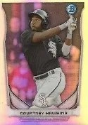 2014 Bowman Mini Chrome Courtney Hawkins