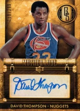 13/14 Panini Gold Standard Mother Lode David Thompson Auto