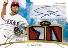 2014 Tier One Yu Darvish Auto Relic